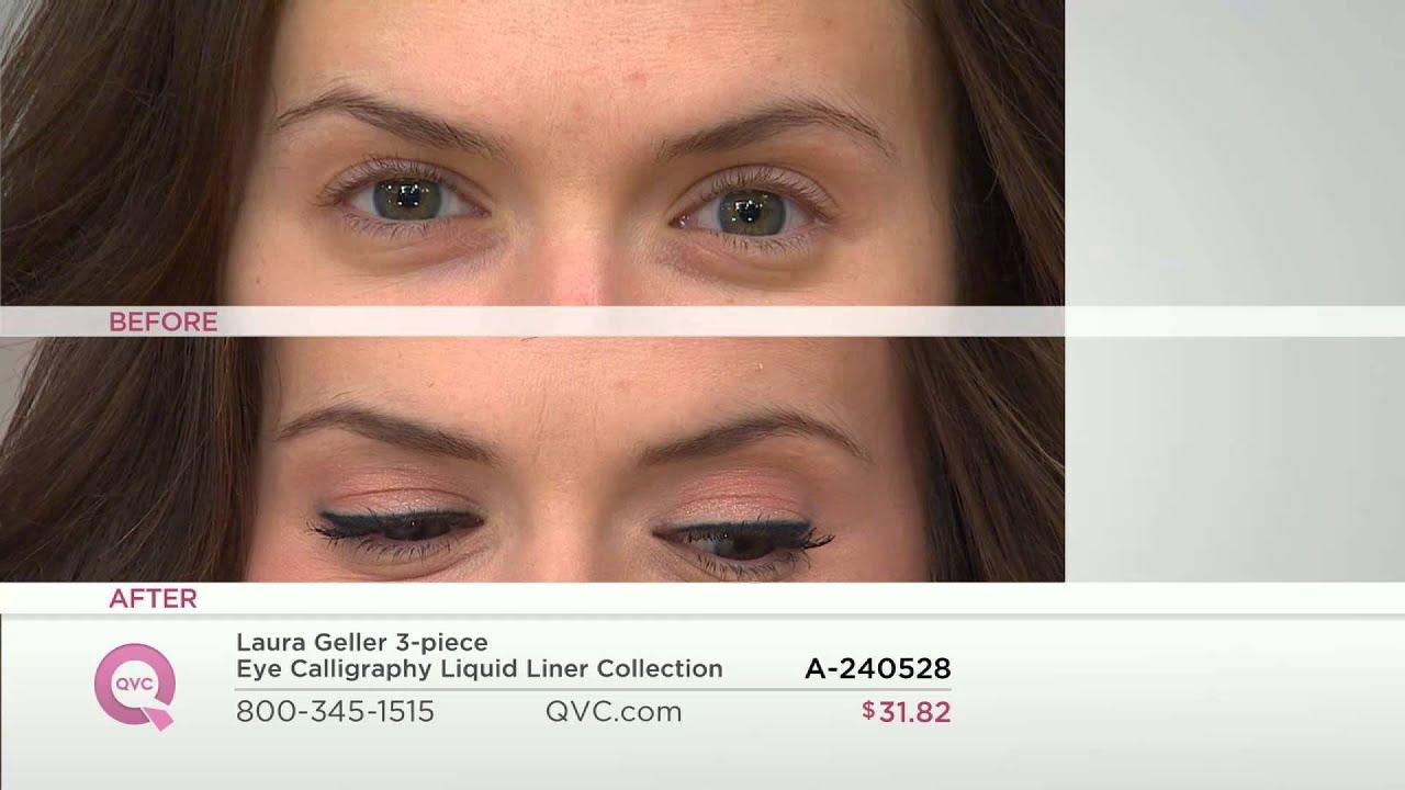 Laura Geller 3 Piece Eye Calligraphy Liquid Liner
