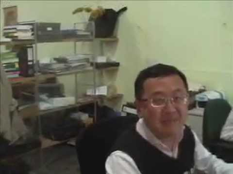 Office staff in Shanghai lip-synching