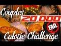 COUPLES 20,000 CALORIE CHALLENGE (FAIL)