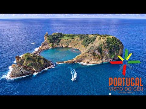 Ilhéu de Vila Franca do Campo - Amazing Islet with beach inside - São Miguel - Açores - 4K Ultra HD