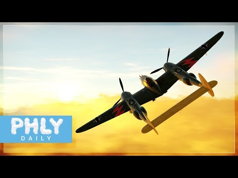P-38 LIGHTING  | BOOM And KILL ( War Thunder Plane Gameplay)