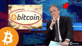 Remember In 2014 When John Stewart Told You To Buy Bitcoin?