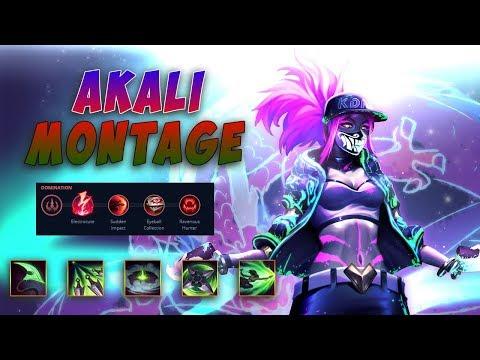 Akali Montage - Akali Fast Combo    Animuss