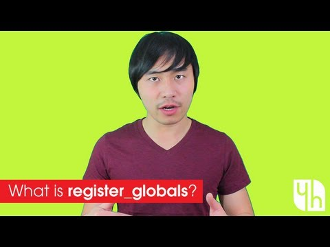 What Is Register_Globals? In PHP
