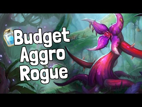 Budget Aggro Rogue Deck Guide - Hearthstone