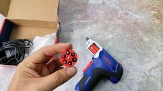 Máy bắt vít điện tử Workpro lên đạn nhanh như súng