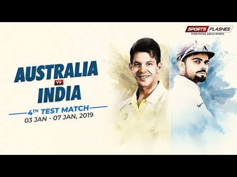 Live: IND Vs AUS 4th Test Match Day 4 Commentary from stadium | SportsFlashes