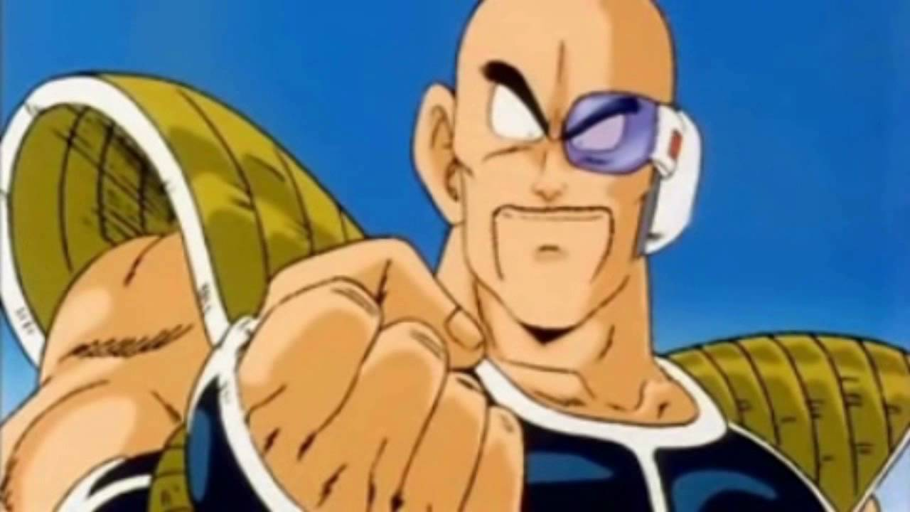 Dragon ball nappa raditz spug