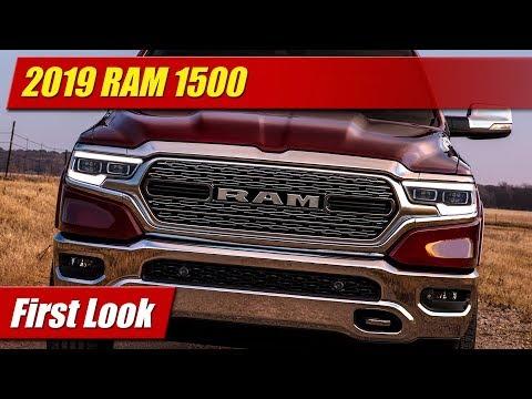 2019 RAM 1500: First Look