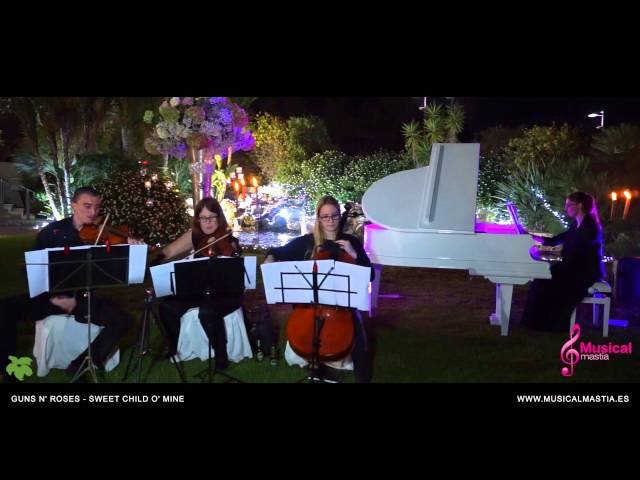 Musica bodas Murcia Guns N' Roses - Sweet Child O' Mine CASON DE LA VEGA coctel wedding