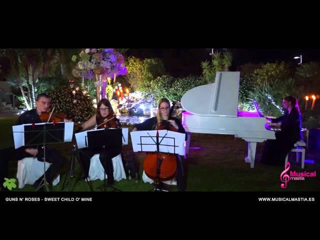 Musica bodas Murcia Guns N' Roses - Sweet Child O' Mine CASON DE LA VEGA coctel wedding