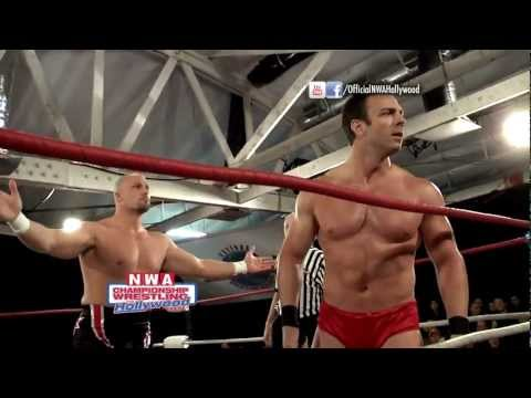 Adam Pearce Vs. Shaun Ricker For The NWA World's Championship - (HD) 12/11/2011