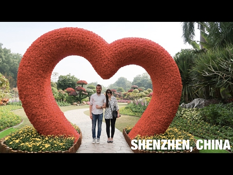 Shenzhen- Getting a taste of China!