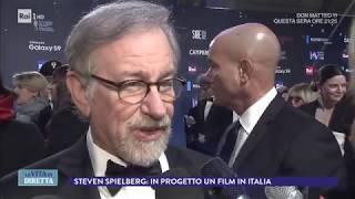 Intervista a Steven Spielberg, David di Donatello alla carriera - La Vita in Diretta 22/03/2018
