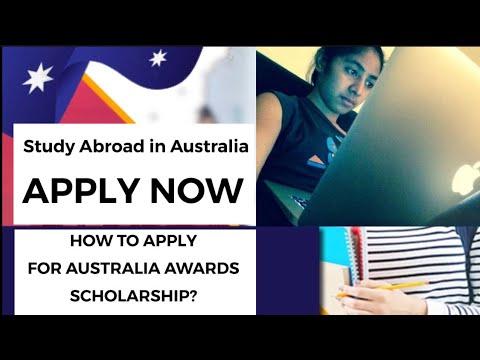 Juliana Makes A Full Tutorial On How To Apply For Australia Awards Scholarship Online