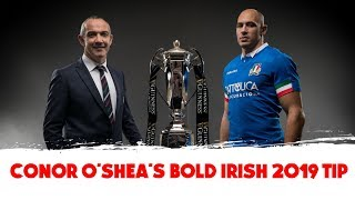Ireland World Cup favourites if they repeat Grand Slam - Conor O'Shea