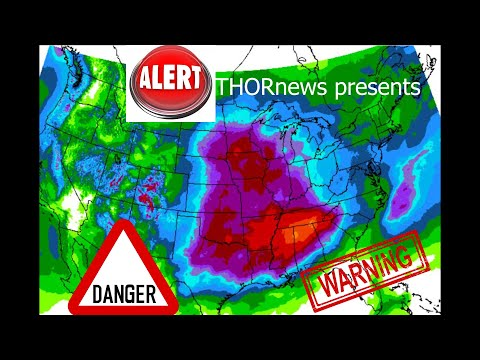 Alert! Warning! Danger! MAJOR USA Flood Threat from Double Storms in next 7 Days