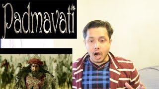 Padmavati Trailer Reaction & Prediction | Ranveer Singh | Shahid Kapoor | Deepika Padukone