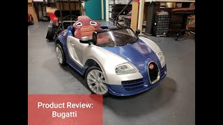 Product Review by KidStance: Bugatti Style Kids Ride On Toy. BigToysDirect.com