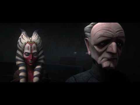 Star Wars The Clone Wars Palpatine Gives Fives Revenge Of The Sith Script Youtube