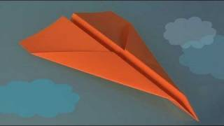 Comment faire origami, un avion en papier