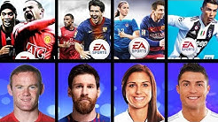 FIFA Cover Athletes Overall Ratings (FIFA 96 - FIFA 19)