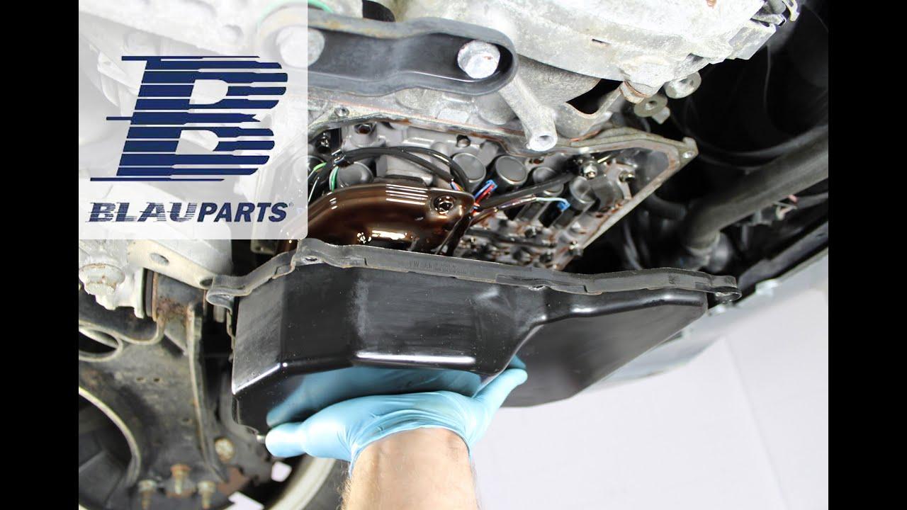 How To Change VW CC, Passat, Tiguan Transmission Fluid & Filter Aisin 09M  YouTube