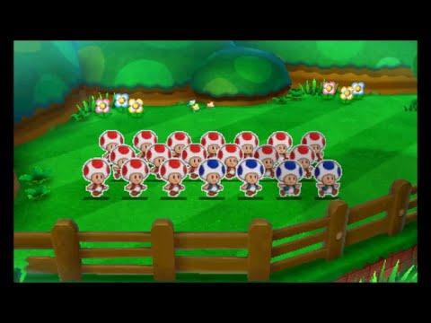 Mario & Luigi: Paper Jam - All Paper Toad Quests