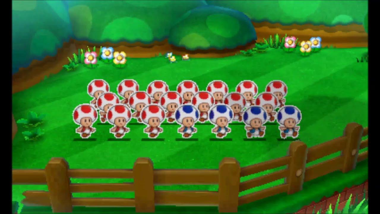 Mario Luigi Paper Jam All Paper Toad Quests Youtube