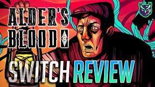 Alder's Blood Switch Review - X-COM meets Darkest Dungeon! (Video Game Video Review)