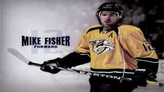 Mike Fisher #12 Highlights [HD]