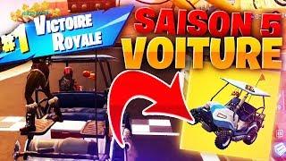 MON PREMIER TOP 1 EN SAISON 5 !!! 🔥 NOUVELLE VOITURE ET NOUVELLE MAP !! - KINSTAAR GAMEPLAY