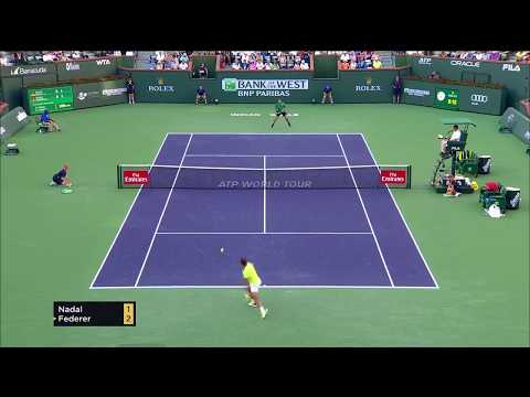 Federer vs Nadal - Indian Wells 2017 4R Highlights - 60FPS