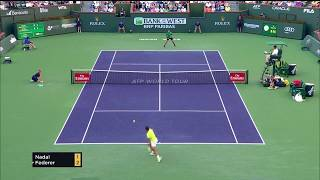 Federer vs Nadal - Indian Wells 2017 4R Highlights - 60FPS