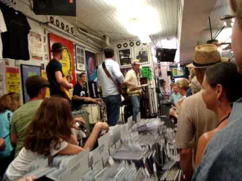 Eric Lindell at Louisiana Music Factory - New Orleans