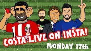 COSTA LIVE ON INSTA! Aguero to Chelsea? Sanchez to PSG? Renato Sanches to AC Milan?