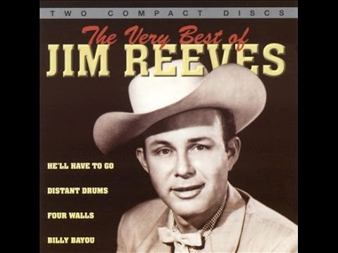 Jim Reeves - He'll Have To Go (Lyrics on screen)
