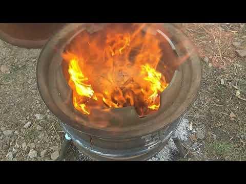 Печка буржуйка из