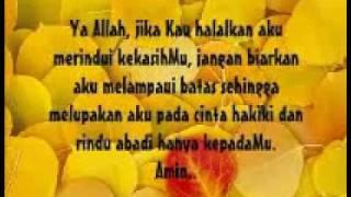 doa seorang yang jatuh hati