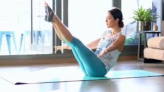 My one pose for tighter abs - The Boat Pose