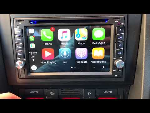 Unbranded Chinese Apple Car Play headunit