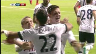 Tottenham vs Arsenal (1 - 2) | Full Highlights and Goals | Capital One Cup | 23/09/2015 | (HD)