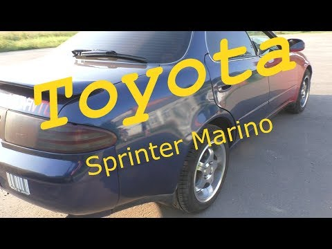 обзор Toyota Sprinter Marino