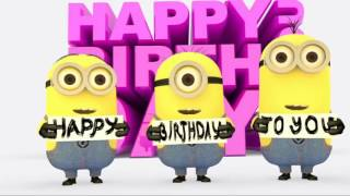 minions sing happy birthday song songs children