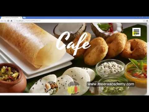 Online food ordering system in asp net - YouTube