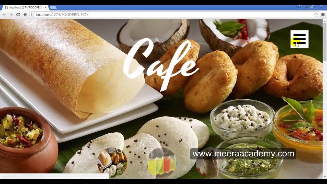 online food ordering system project in asp net c#