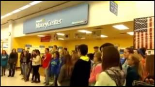 WATCH: Children caroling get kicked out of Klamath Falls Walmart - Dec 18th, 2014