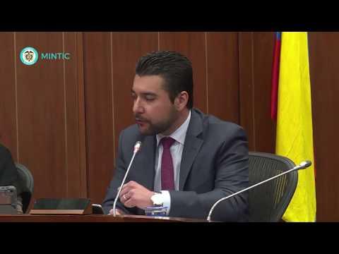 Ministra TIC Sylvia Constaín en Comisión Sexta C35-N6