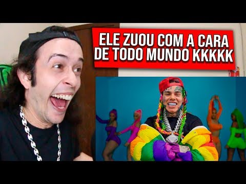 REAGINDO a 6IX9INE- GOOBA (Official Music Video) – REACT/REAÇÃO