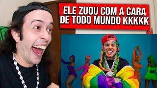 REAGINDO a 6IX9INE- GOOBA (Official Music Video) - REACT/REAÇÃO
